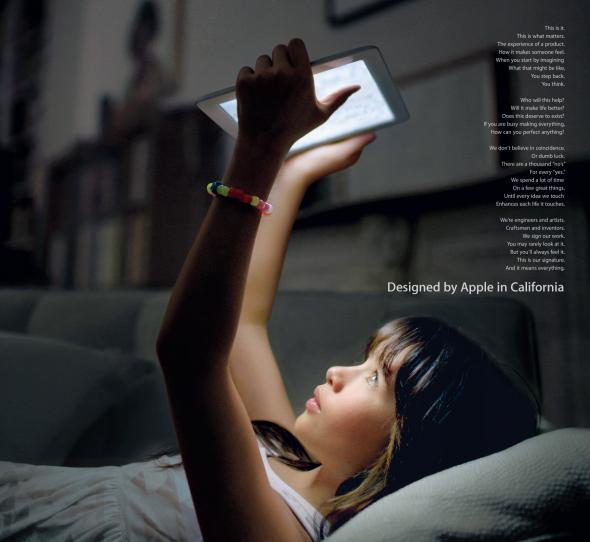 Spot Apple Our Signature: non piacciono, ma la ricerca è di Samsung