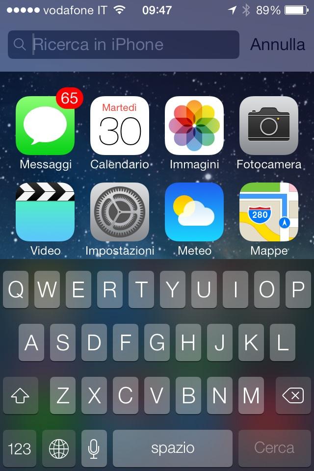 iOS 7 beta 4 tutte le novità scoperte finora dagli sviluppatori
