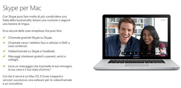Skype 6.9 per mac