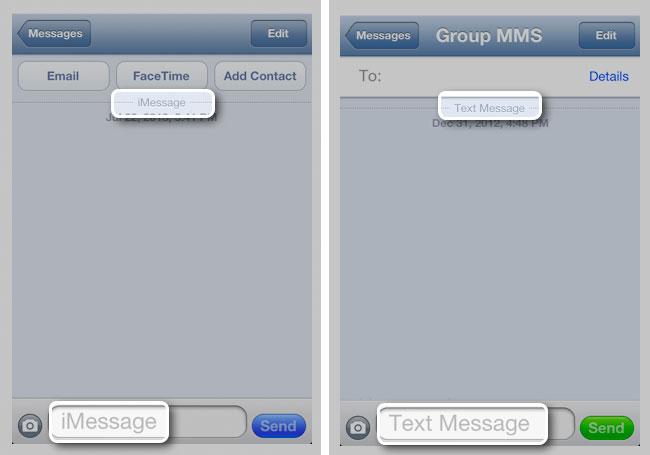 spam via iMessage