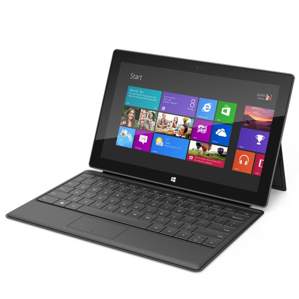 Tablet Microsoft Surface, venduti solo 1,7 milioni di pezzi, un pessimo affare per Microsoft