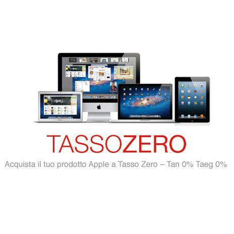 Mediastore Milano, tasso zero e  sconti su MacBook Air, Time Capsule, iPod touch