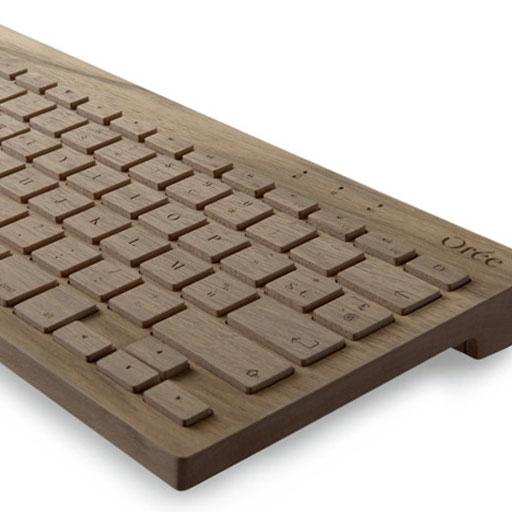 Orée, dalla Francia tastiere wireless di legno massello