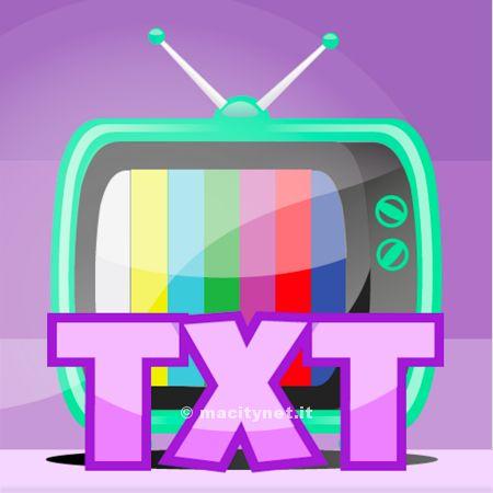 Con TiVi Full –Tv TXT anche i canali Mediaset su iPhone e iPad
