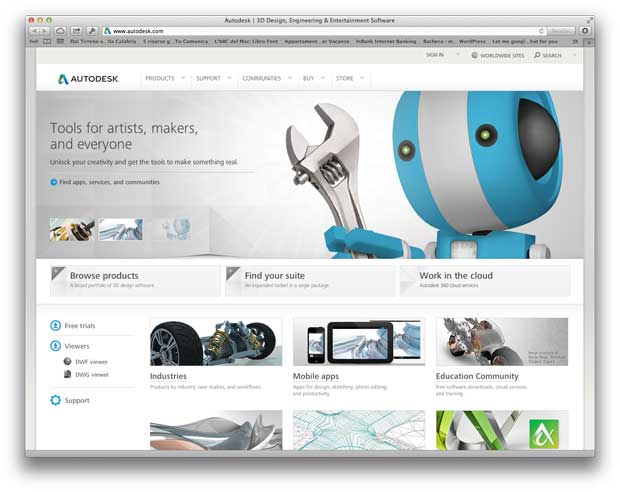 Autodesk in affitto