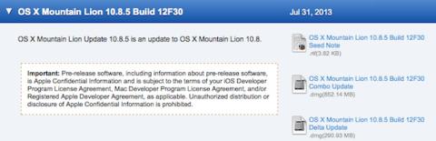 Mountain Lion 10.8.5