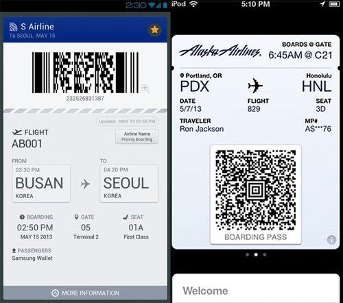 Samsung Wallet apple passbook