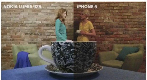 Spot fotografico Nokia prende in giro la pubblicità Apple