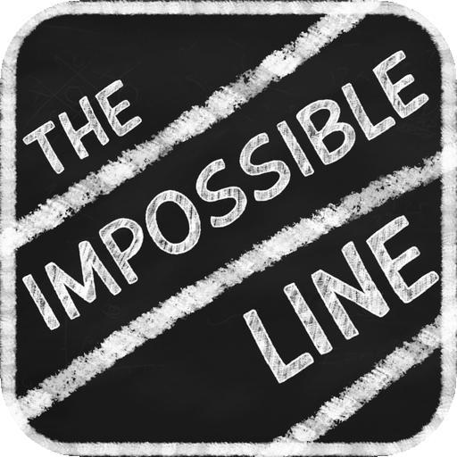 The Impossible Line: traccia la linea sulla lavagna tra gli ostacoli che scompaiono