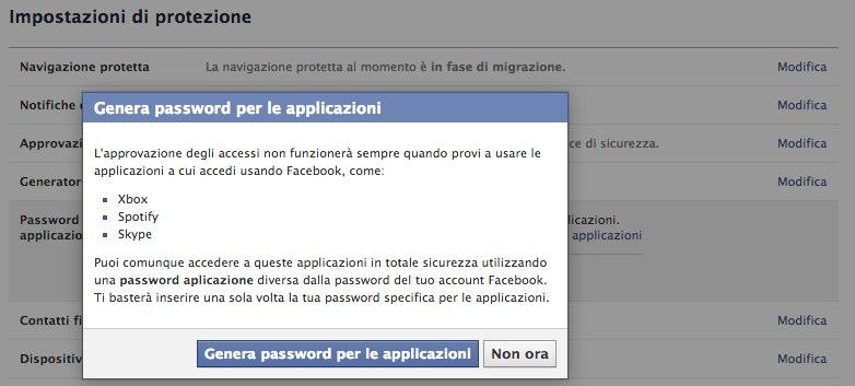 Tutorial doppio fattore di autenticazione su facebook-1