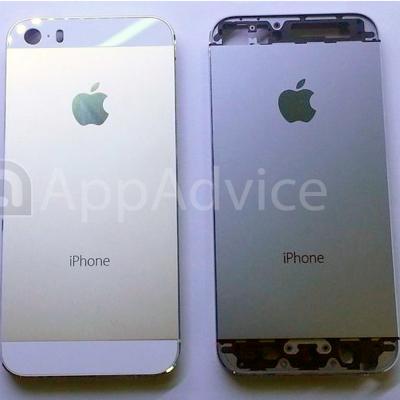 iPhone 5S color champagne, foto di alta qualità