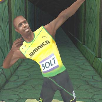 "Usain Bolt in Temple Run 2 si ""ingaggia"" a 89 cent"