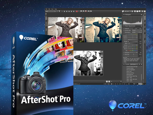 Corel Aftershot Pro, alternativa a Lightroom e Aperture scontatissimo a 30 euro