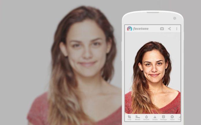 Facetune, app fotografica su iOS per perfezionare i volti