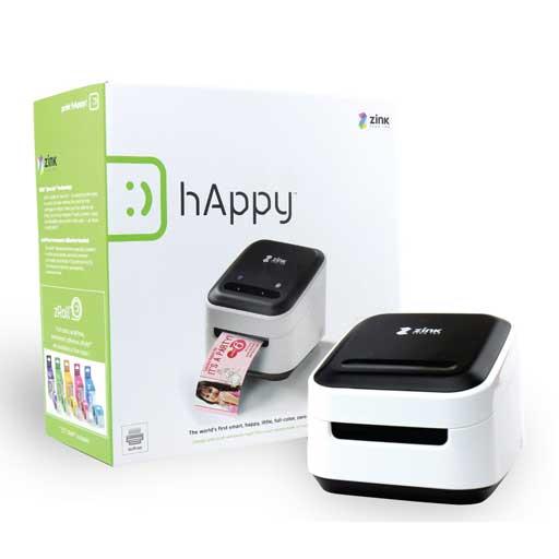 Zink hAppy, le stampanti portatili senza cartucce per smartphone e tablet