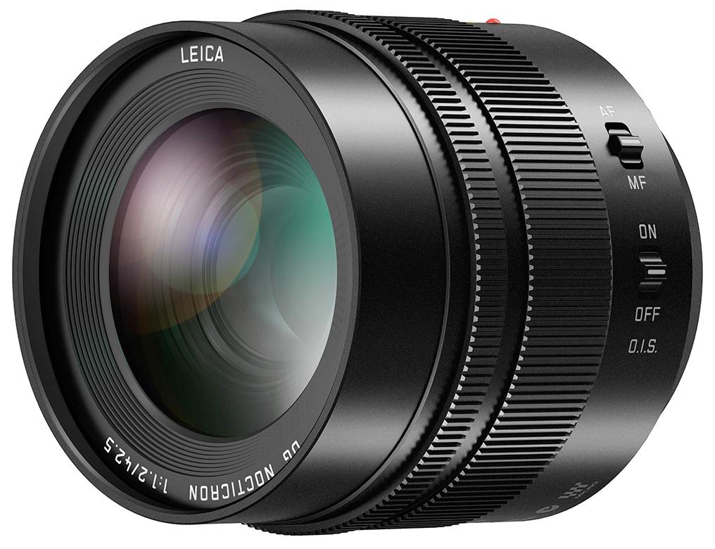 Leica DG Nocticron 42.5mm f/1.2, lente Micro 4/3 per Panasonic
