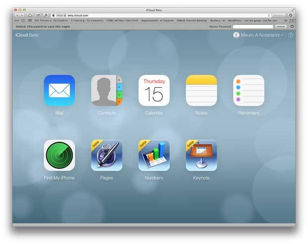 iCloud e iOS 7