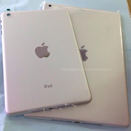 iPad mini Retina e iPad 5: le foto della versione bianca appaiono online insieme a quelle di iPhone 5S oro