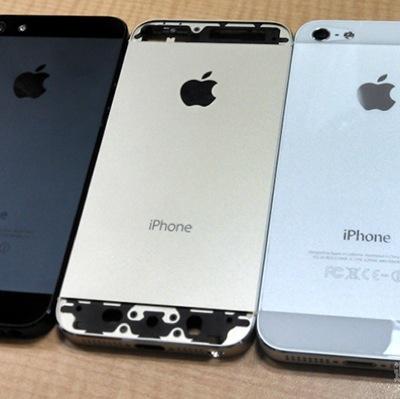 iPhone 5S: nuove foto mostrano la versione color oro champagne