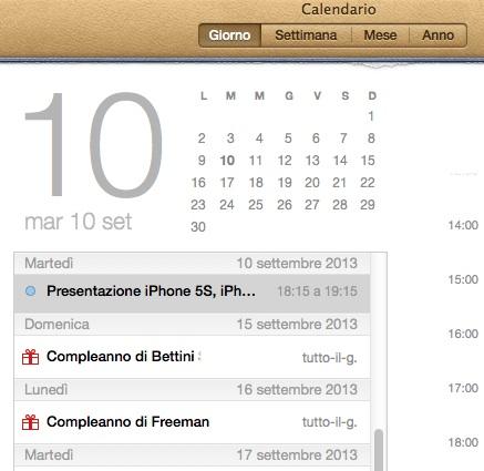 iPhone 5S e iPhone 5C in arrivo il 10 Settembre