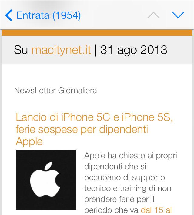 Tre mesi per il sito Mac, iPhone e iPad rinnovato e torna la newsletter di macitynet