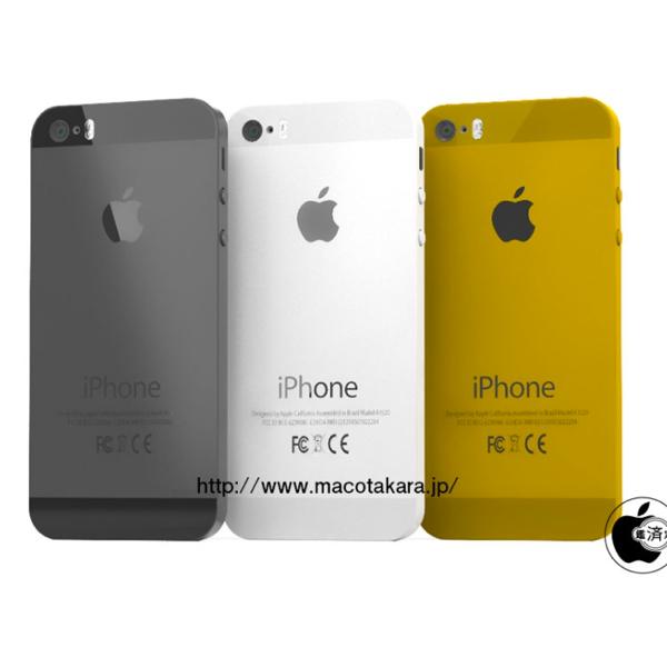 iPhone 5S arriverà anche in color oro, il nome di iPhone low cost sarà iPhone 5C?