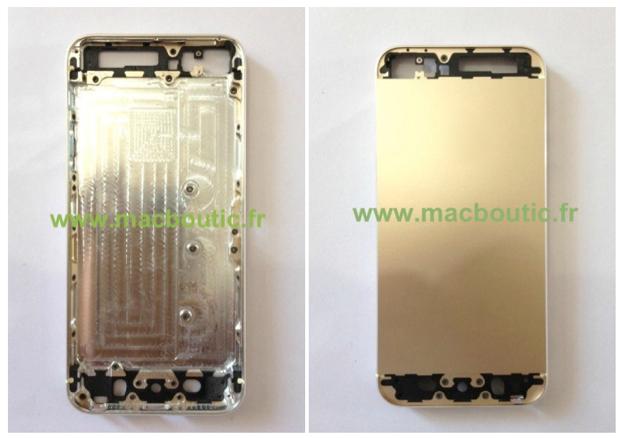 iPhone 5S oro champagne