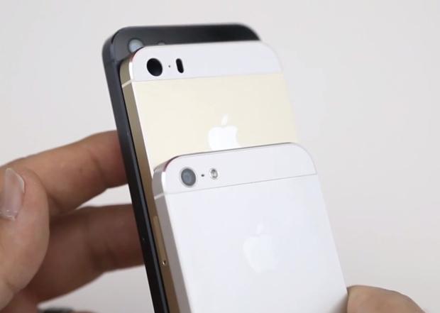 iPhone 5S oro e iPhone 5C blu: gli chassis mostrati in un video in alta qualità