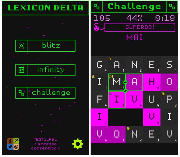 lexicon delta