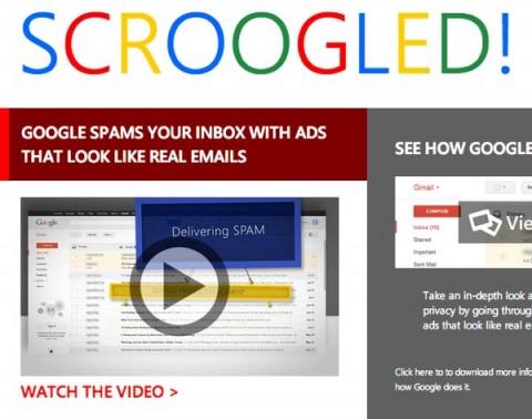 Microsoft attacca Gmail nel nuovo video della serie Scroogled