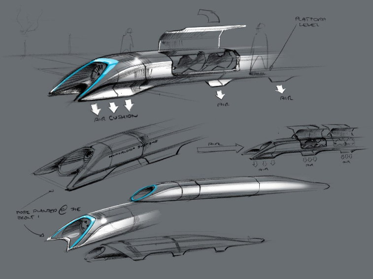 Hyperloop, Elon Musk presenta il mezzo di trasporto del futuro