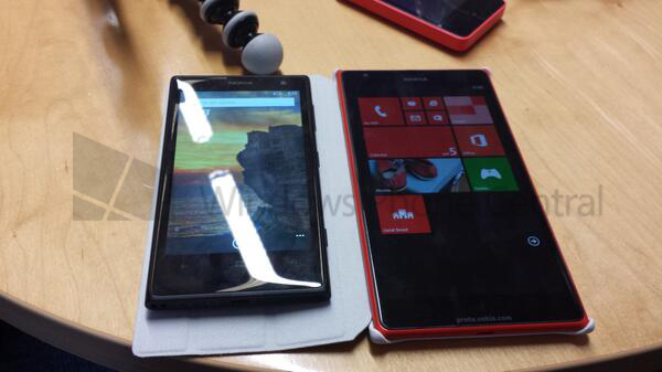Nokia phablet, prima immagine rubata in rete del Lumia 1520