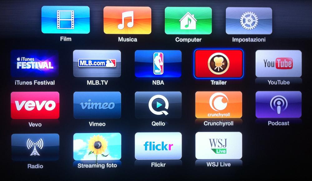 nuovi canali Apple TV