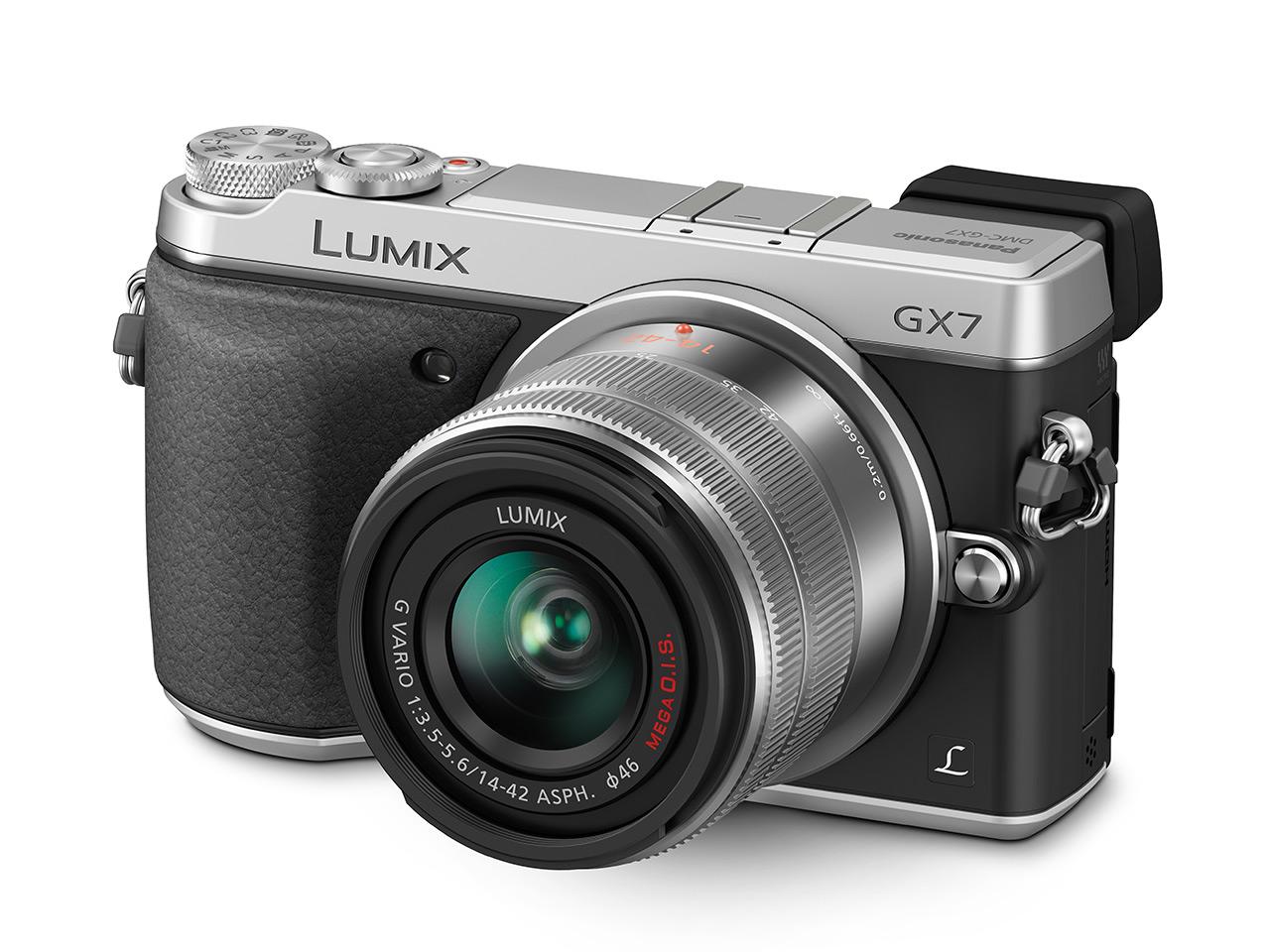 Panasonic Lumix GX7, ecco la nuova Micro 4/3 con mirino elettronico