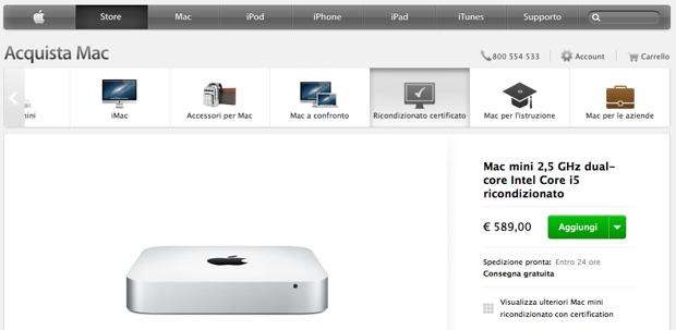 ricondizionati Apple Store
