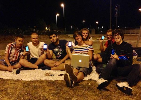 Apertura di Apple Store Rimini: quelli della notte prima