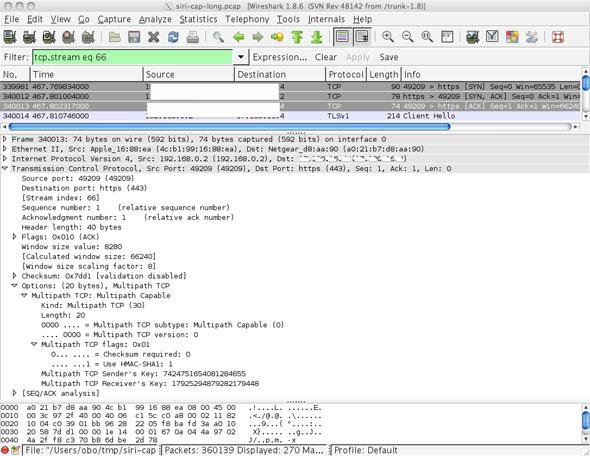 multipath TCP
