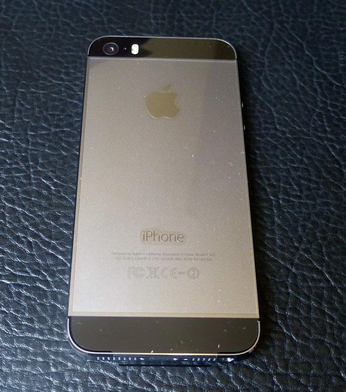 Spacchettamento iPhone 5s
