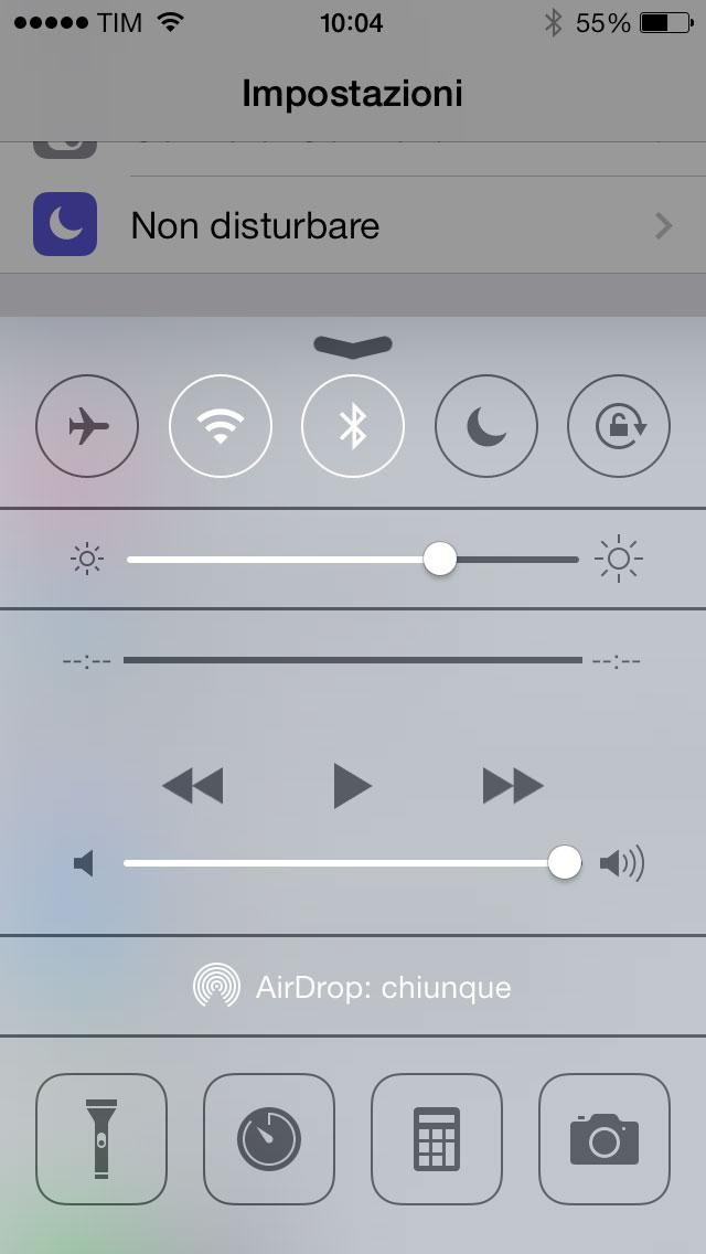 iOS 7 e batteria: consigli per consumare meno