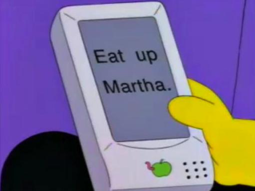 Dietro alla tastiera di iPhone c'è una battuta dei Simpson