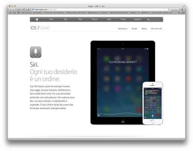 Siri su iOS 7
