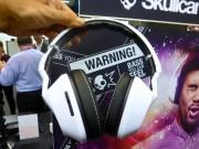 IFA 2013: Skullcandy Crusher, le cuffie sovralimentate per bassi sconvolgenti