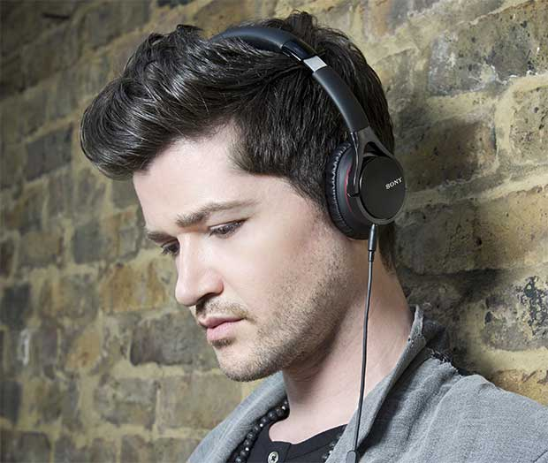 Sony MDR-10, cuffie premium nate in collaborazione con i The Script