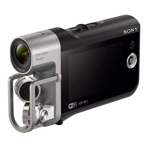 Sony HDR-MV1, la videocamera per video musicali