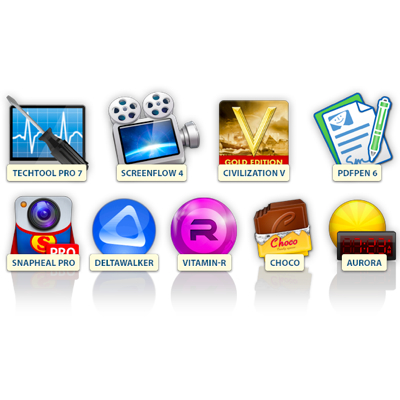 Termina il Bundle MacUpdate: ScreenFlow, TechTool Pro, Civilization V e altre 6 app a 37 euro
