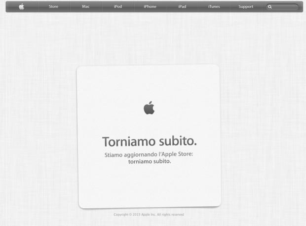 Apple Store online fuori servizio, in attesa delle novità di questa sera