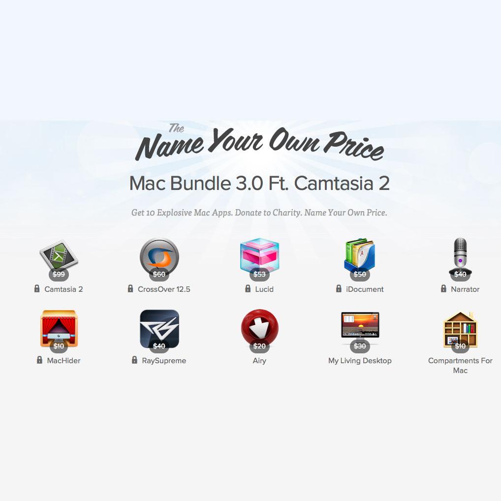 Bundle con 10 grandi app al prezzo che offrite voi, verso la conclusione