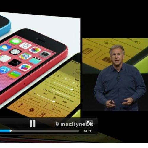iPhone 5s e iPhone 5c: disponibile il video della presentazione