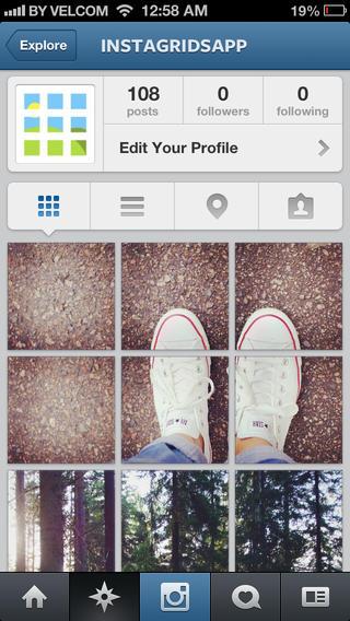 collage billeder instagram