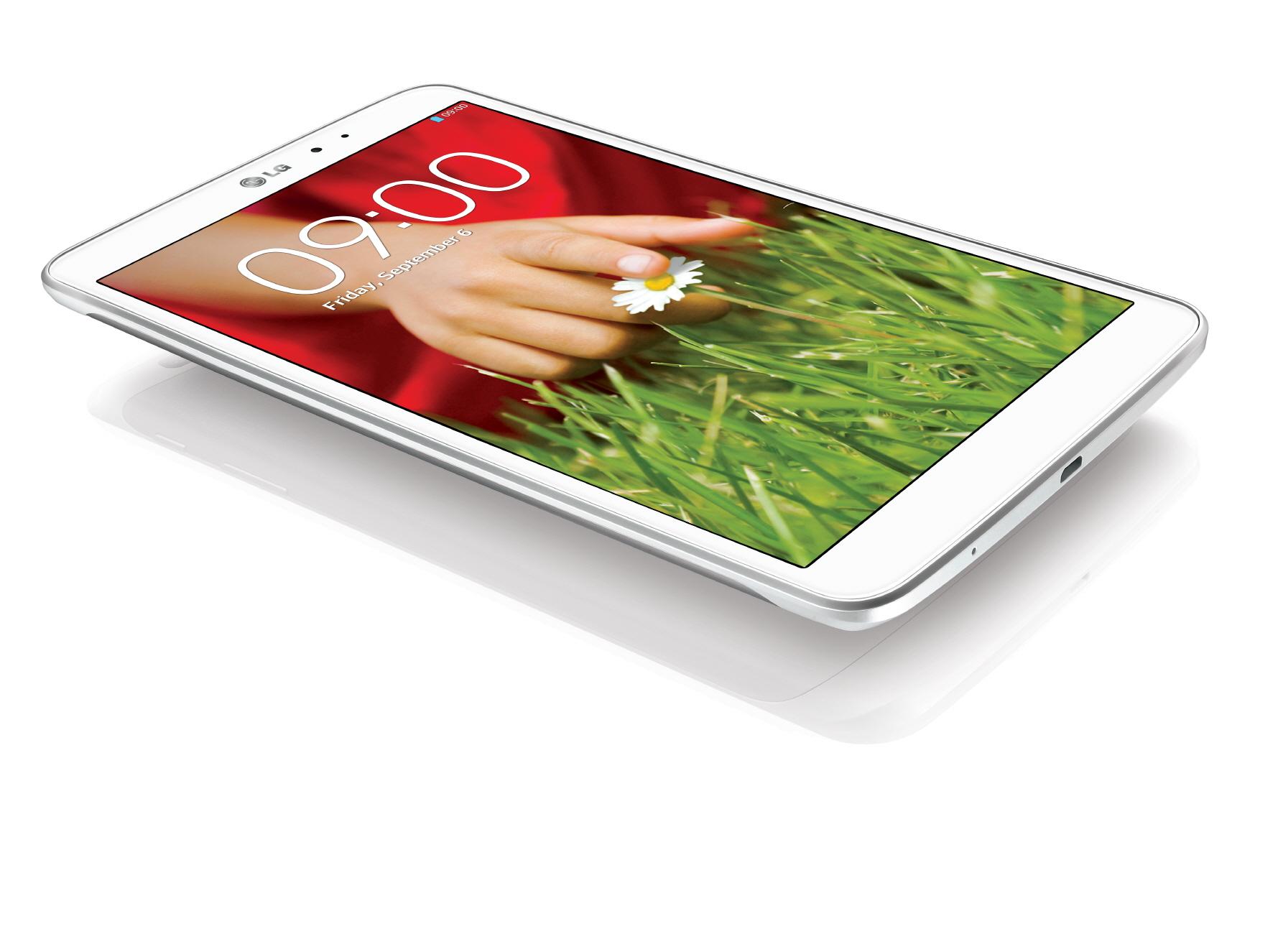 LG G Pad 8.3 ufficialmente presentato da LG il nuovo tablet